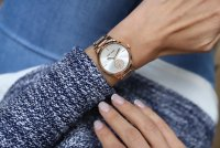 Zegarek damski Anne Klein bransoleta AK-3416SVRG - duże 3