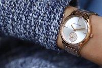 Zegarek damski Anne Klein bransoleta AK-3416SVRG - duże 4