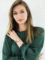 Zegarek damski Anne Klein Bransoleta AK-3420CHGB - duże 2
