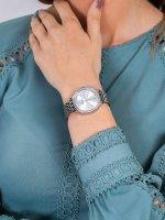 Zegarek damski Anne Klein Bransoleta AK-3421SVSV - duże 3