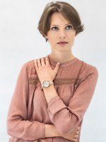 Zegarek damski Anne Klein Pasek AK-2790PMPK - duże 2