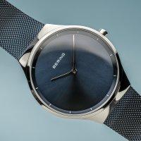 Zegarek damski Bering classic 12138-307 - duże 2