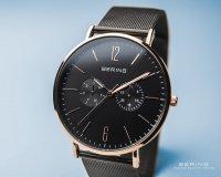 Zegarek damski Bering classic 14236-163 - duże 2