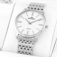 Zegarek damski Bisset klasyczne BSBE54SIWX03B1 - duże 2