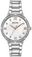 Zegarek damski Bulova diamond 96L264 - duże 1