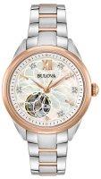 Zegarek damski Bulova diamond 98P170 - duże 1