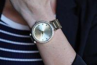 Zegarek damski Caravelle bransoleta 44L209 - duże 3