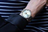 Zegarek damski Caravelle bransoleta 44L209 - duże 2
