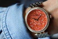 Zegarek damski Caravelle bransoleta 44L229 - duże 2