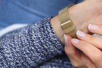 Zegarek damski Caravelle bransoleta 44L256 - duże 3