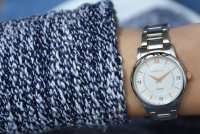 Zegarek damski Caravelle bransoleta 45P110 - duże 8