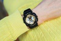 Zegarek damski Casio Baby-G baby-g BA-130-1A3ER - duże 2