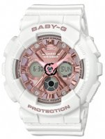 Zegarek damski Casio baby-g BA-130-7A1ER - duże 1