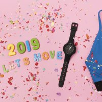 Zegarek damski Casio baby-g BSA-B100-1AER - duże 3
