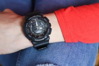 Zegarek damski Casio g-shock s-series GMA-S130PA-1AER - duże 3