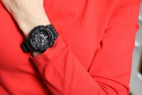 Zegarek damski Casio g-shock s-series GMA-S130PA-1AER - duże 2