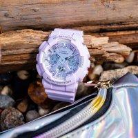 Zegarek damski Casio g-shock specials GMA-S120DP-6AER - duże 2