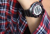 Zegarek damski Casio klasyczne LWS-1100H-8AVEF - duże 2