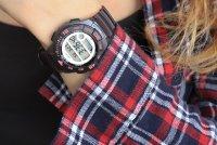 Zegarek damski Casio klasyczne LWS-1100H-8AVEF - duże 3