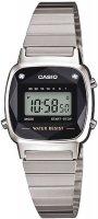 Zegarek damski Casio retro mini LA670WEAD-1EF - duże 1