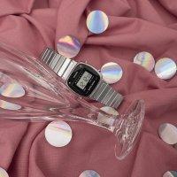 Zegarek damski Casio retro mini LA670WEAD-1EF - duże 2