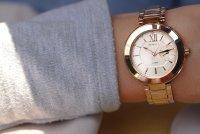 Zegarek damski Casio sheen SHE-3050PG-7AUER - duże 2