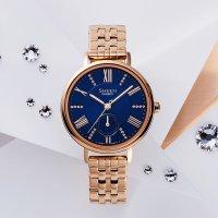 Zegarek damski Casio sheen SHE-3066PG-2AUEF - duże 2