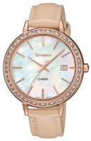 Zegarek damski Casio sheen SHE-4052PGL-7BUEF - duże 1