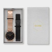 Zegarek damski Cluse la boheme mesh CG1519201003 - duże 2