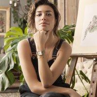 Zegarek damski Cluse la tétragone CL60016 - duże 2