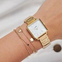 Zegarek damski Cluse la tétragone CL60026S - duże 4