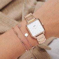 Zegarek damski Cluse la tétragone CL60027S - duże 4