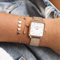 Zegarek damski Cluse la tétragone CLG014 - duże 4