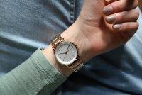Zegarek damski DKNY bransoleta NY2344 - duże 4
