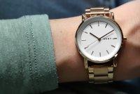 Zegarek damski DKNY bransoleta NY2344 - duże 5