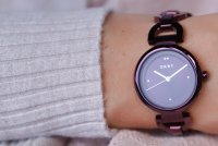 Zegarek damski DKNY bransoleta NY2834 - duże 4