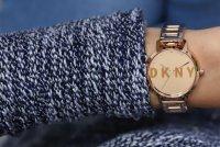 Zegarek damski DKNY bransoleta NY2839 - duże 4