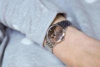 Zegarek damski Doxa slim line D156SBR - duże 3