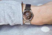 Zegarek damski Doxa slim line D156SBR - duże 4