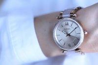 Zegarek damski Fossil carlie ES4346 - duże 3