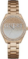 Zegarek damski Guess bransoleta W0987L3 - duże 1