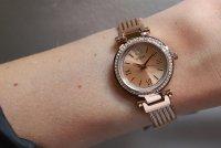 Zegarek damski Guess bransoleta W1009L3 - duże 5