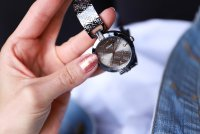 Zegarek damski Guess bransoleta W1228L4 - duże 7