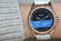 Zegarek damski Guess connect smartwatch C1003L1 - duże 8