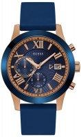 Zegarek męski Guess pasek W1055G2 - duże 1