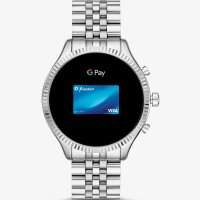 Zegarek damski Michael Kors access smartwatch MKT5077 - duże 2