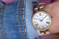 Zegarek damski Michael Kors maci MK2790 - duże 3