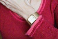 Zegarek damski Obaku Denmark bransoleta V102LGGMG - duże 2