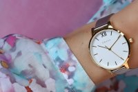Zegarek damski Obaku Denmark bransoleta V209LXGIMC1 - duże 3