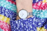 Zegarek damski Obaku Denmark bransoleta V225LXCIMC - duże 4